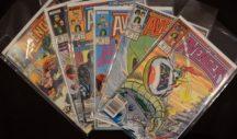 Thor Avengers captain america comics vechi