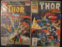 Thor anuare benzi desenate vechi comics Marvel