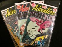 Black Orchid prima aparitie dc comics vechi benzi desenate