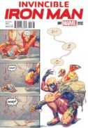 Iron man Deadpool benzi desenate comics variante