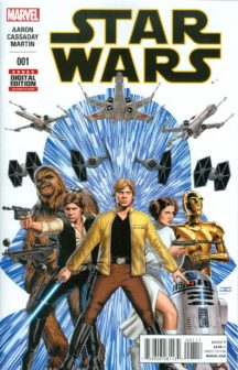 Star Wars 1 primul print first print marvel