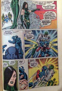 Captain America 110 steranko hulk vs captain america comics