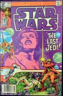 Marvel Last Jedi comic banda desenata Star Wars