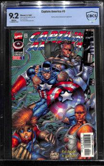 Rob Liefeld CBCS CGC arta benzi desenate comics Captain America