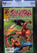 Elektra CBCS CGC comic nou anii '90 Romania