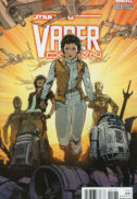 Vader Down comics Leia C-3po benzi desenate