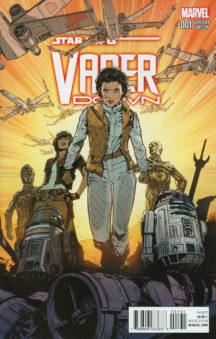 Vader Down comics Leia C-3po benzi desenate