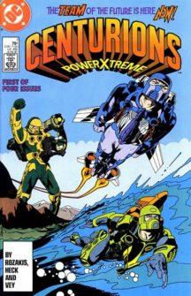 Centurions power benzi desenate comics animate dc