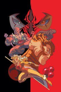Thundercats benzi desenate vechi comics