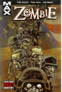 Zombie Marvel benzi desenate horror comics