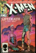 lifedeath x-men benzi desenate banda desenata comic marvel