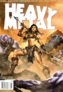 Heavy metal magazine romania comics