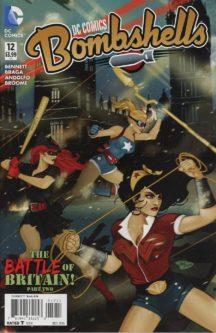 DC Comics Bombshells benzi noi