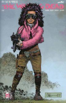 Image comics walking dead juanita sanchez