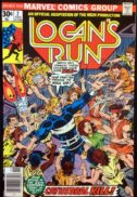 Logan's Run benzi desenate comics vechi Marvel