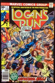 Logan's Run benzi desenate comics vechi Marvel