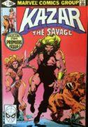 Kazar ka-zar origine benzi marvel comics