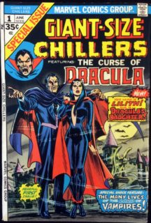Giant Size Chillers lilith Dracula Marvel