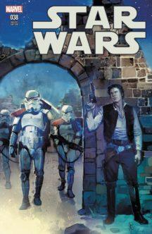Cover exclusiv coperta benzi desenate comics Star Wars