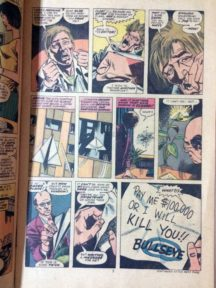 Daredevil primul Bullseye film prima aparitie comic banda desenata