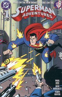Superman Adventures animated series comic benzi desenate vechi