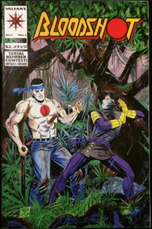 Ninjak bloodshot costum valiant comics benzi desenate