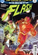 Flash green lantern rebirth comics