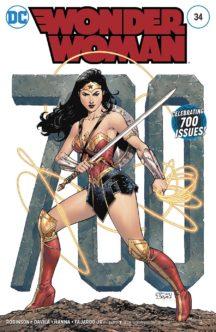 Wonder Woman 700 numere varianta actrita