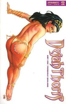 Dejah Thoris dynamite benzi desenate noi comics sexy