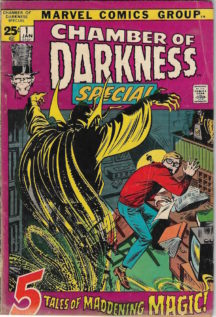 Chamber of darkness horror marvel comics
