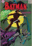 Primul Scarecrow aparitie benzi desenate dc comics vechi