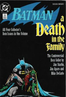 Volum album death in family dc comics parinti Batman