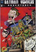 Semnata si schitata banda desenata dc comics testoasele ninja