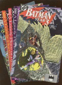 Benzi vechi vintage batman set lot dc comics robin
