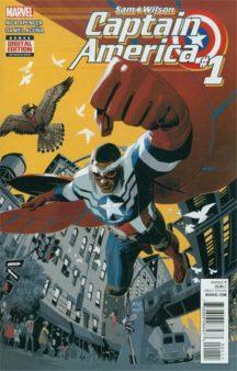 Captain America Sam Wilson #1 comics marvel benzi desenate noi