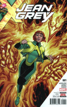 Jean Grey benzi desenate noi marvel comics #1