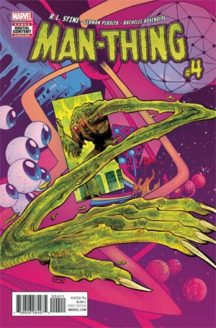 Man-Thing Marvel comics serie