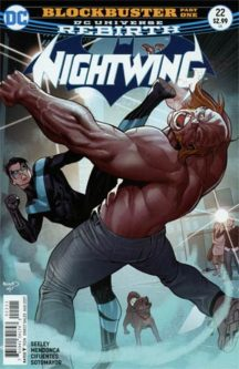 Nightwing serie benzi desenate noi dc comics