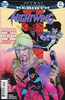 Nightwing serie benzi desenate noi dc comics