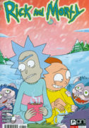 Rick & Morty desene animate comics benzi desenate noi