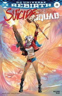 Suicide Squad rebirth benzi desenate noi Harley Quinn