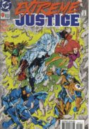 Extreme justice dc comics benzi desenate vechi