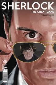 Moriarty actor sherlock great game titan comics
