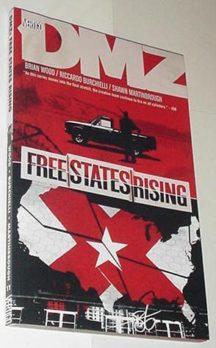 DMZ Vertigo vol 11 tpb romania engleza americana