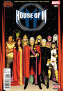 House of M benzi desenate noi marvel comics
