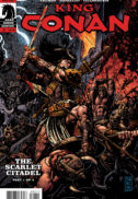 King Conan comic banda desenata dark horse