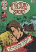 Charlton comics I love you benzi desenate vechi