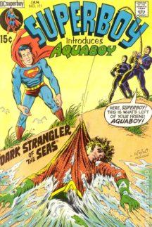 superboy dc comics benzi desenate vechi