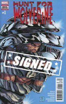 Wolverine Charles Soule semnata marvel comics