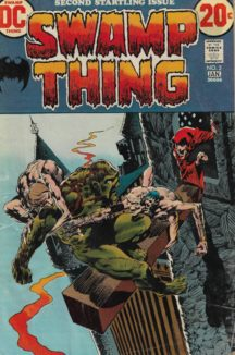 Swamp Thing benzi lot wrighston benzi vechi dc